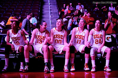 USC Women's Basketball v Oregon State 2011
