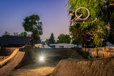 Jason and Austin - Back Yard Trails