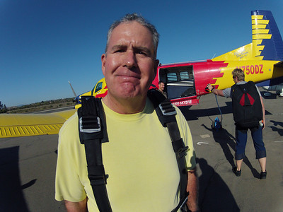 Skydiving, October 2012
