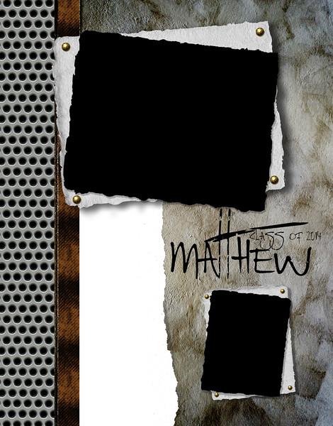 Scrap Metal - Full Page Template #1