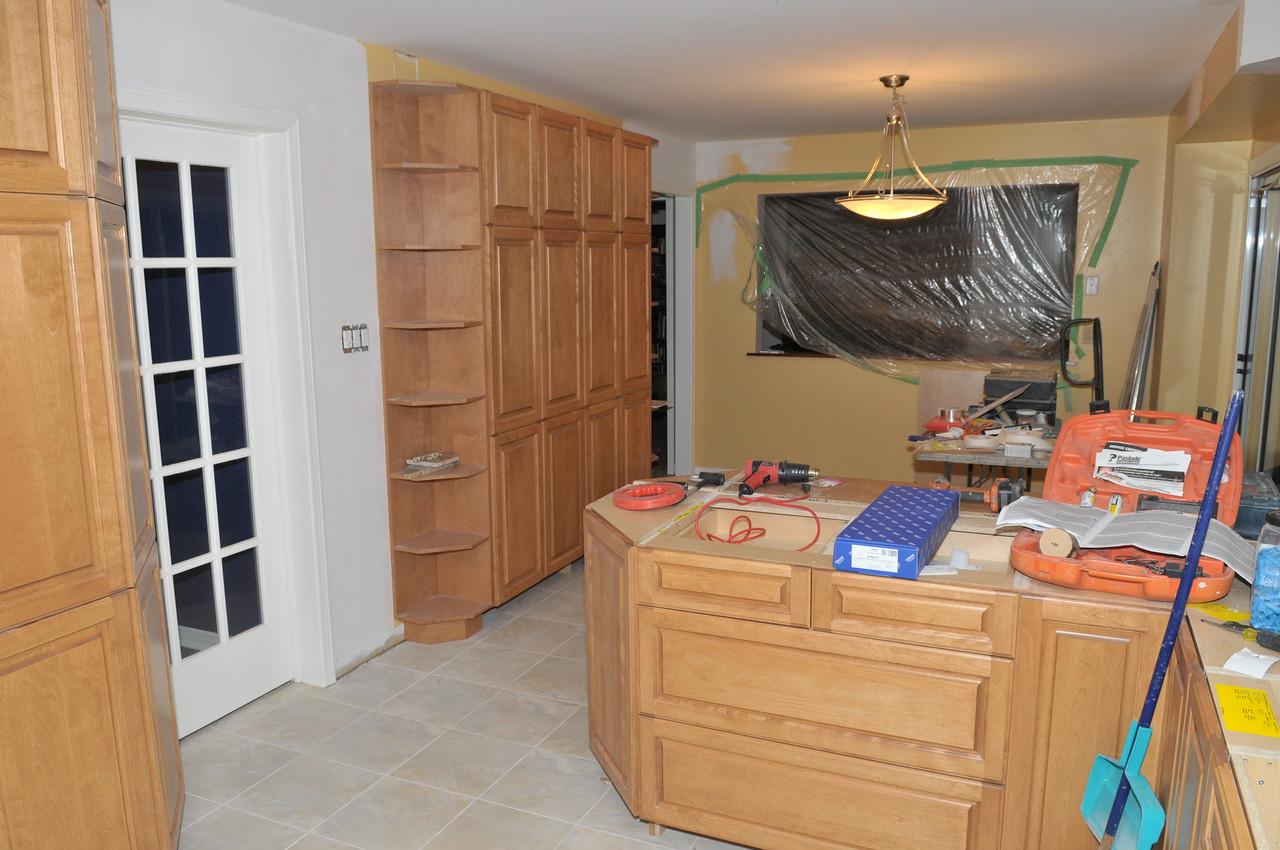 Nice new pantry