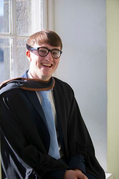 01/11/2018. Waterford Institute of Technology (WIT) Conferring Ceremonies 2018. Pictured is Daniel Magner Kildare. Picture: Patrick Browne