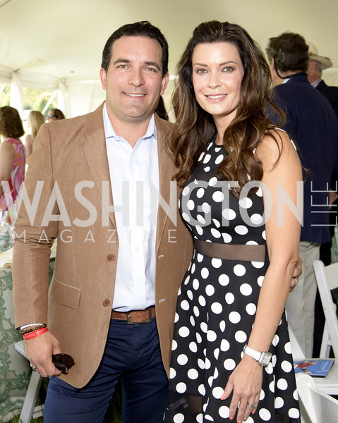 John and Kristy Pellerito,  NSLM 2019 Polo Classic Great Meadow Sep 15 2019 Photo by Nancy Milburn Kleck
