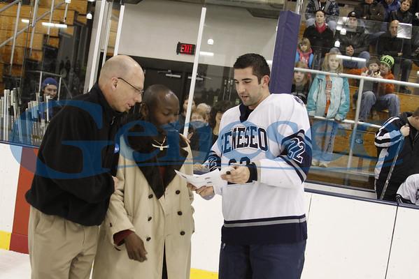 Men's Ice Hockey - Honoring Faculty