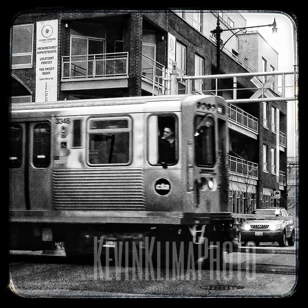 CTA Brown Line Train @ Kedzie