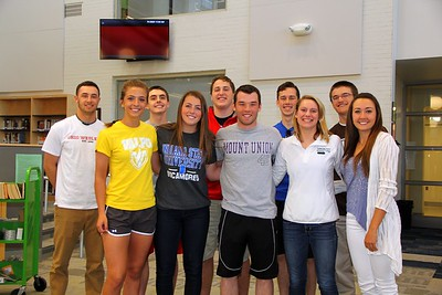 RRHS Class of 2015 - College Sports Students