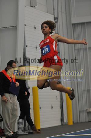 Women's Long Jump - by Dave - 2012 Big Meet