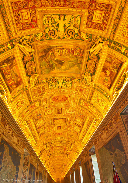 Hall of maps in the Vatican