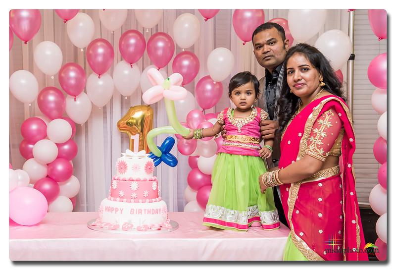 Srinika's 1 st Birthday Party