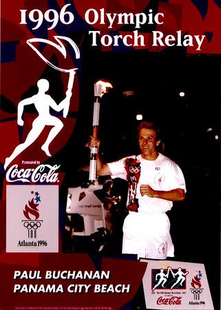 Olympic Torch Relay 1996 - Summer Olympics Atlanta