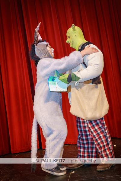 Shrek Rehearsal Day 1