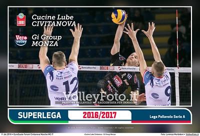 1ª Ritorno #SuperLega «Cucine Lube Civitanova - Gi Group Monza»