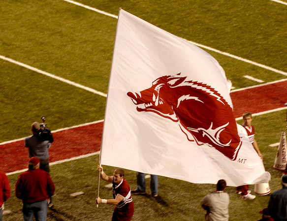 RAZORBACK FOOTBALL      31 October 2009