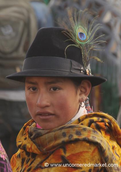 Dressed Up for Market - Zumbahua, Ecuador