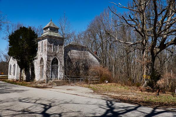 Church near Otter Creek