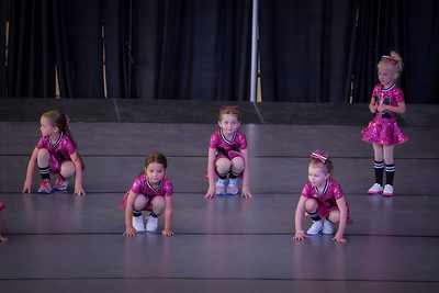 4-6 Year Old Hip Hop:Tumbling Combo Space Jam