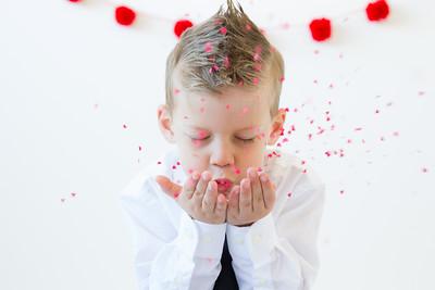 Vandergriff Children Valentine's Mini-Session
