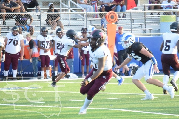 Tenaha at Joaquin Football Scrimmage on August 13, 2021