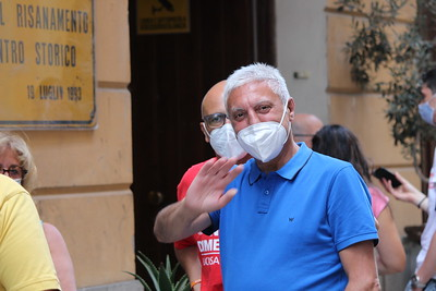 Palermo luglio 2021 Scorta per la memoria
