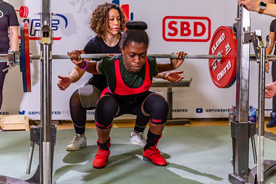 Womens British Powerlifting 7th March 2020 Group D