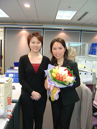 Ava's last day in Sybase (Feb 25, 2004) DONE