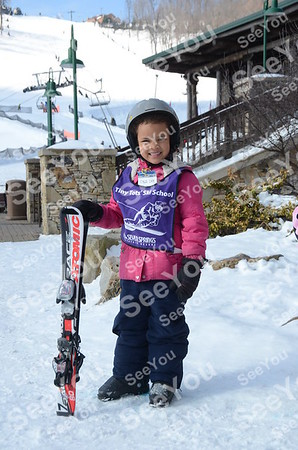 Tiny Tots Ski School 2-25-13
