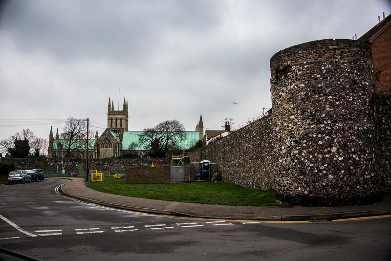 Norwich Castle and Vicinity, England