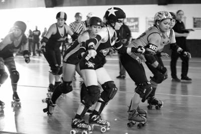 SBRG Studebreakers Vs. Little Steel Derby Girls