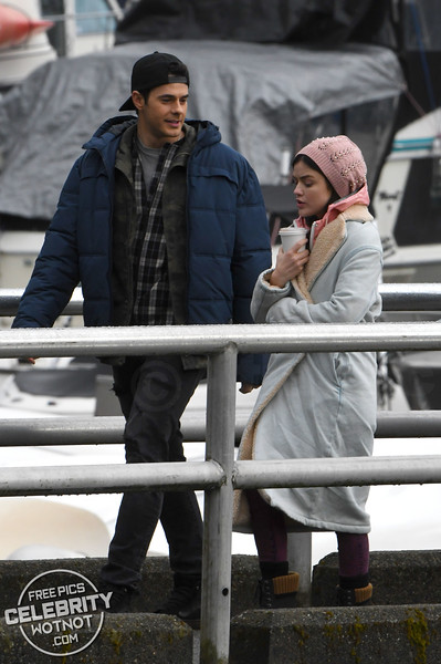 """Lucy Hale Holds Hands With """"Brother� Jayson Blair Filming Life Sentence"""