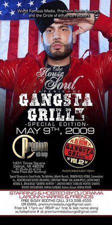 DJ Drama Gangsta Grillz Vol. 2 Release/ World Famous Media By Rafael ThePhotographer