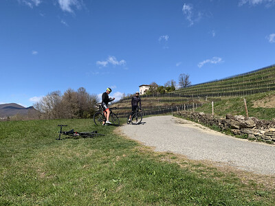 14.03.2021 Mendrisiotto bici da corsa