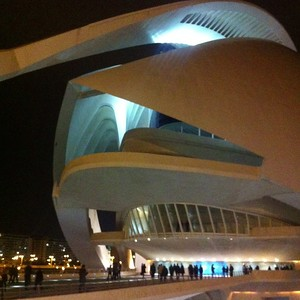 I actually saw an opera in the Valencia Opera House!
