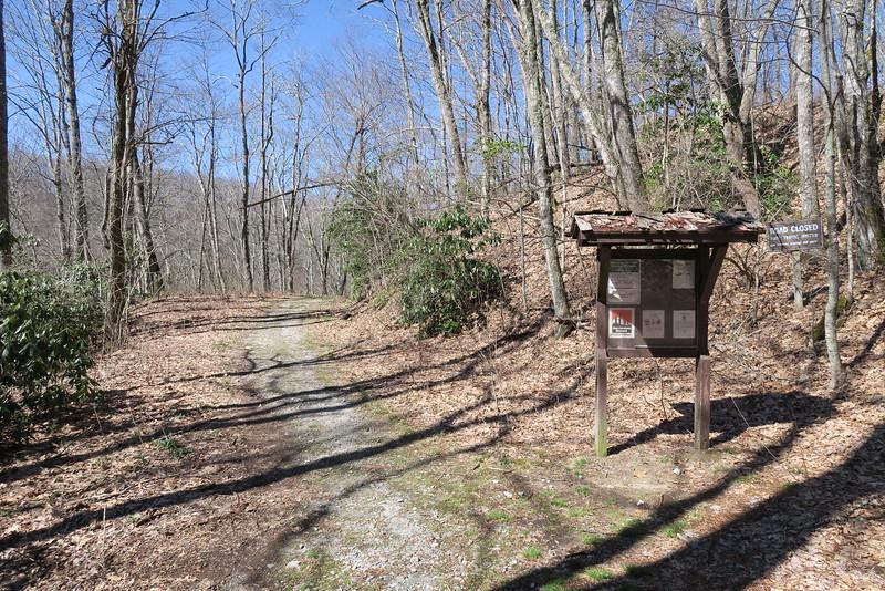 Panthertown Valley Trail - 3,850'