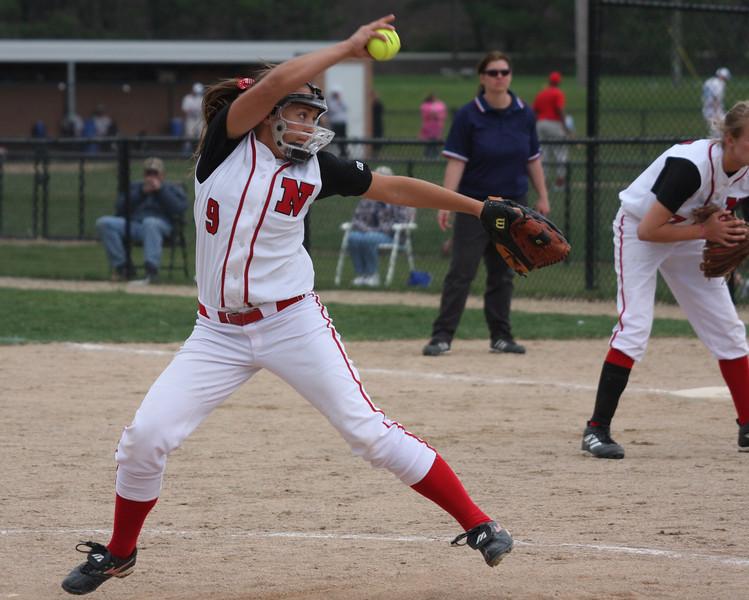 Northview JV Pitcher, Kayleigh Baker