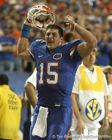 Super Photo Gallery: SEC Championship game vs Alabama, second half, 12/6/08