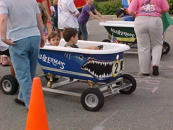 2004 Second Annual Greater  Cincinnati Mascot Bathtub Race