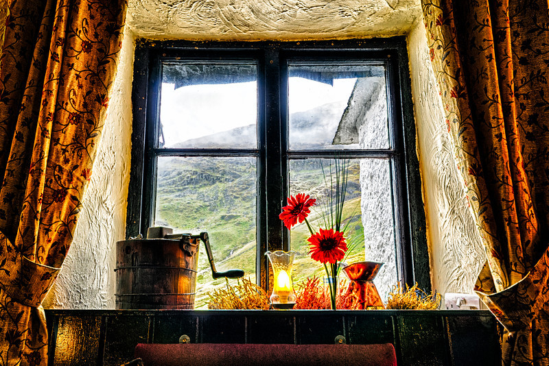Kirkstone Pass Inn Window