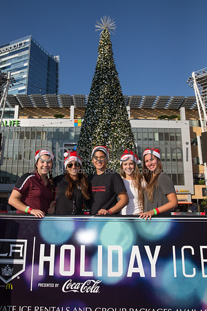 SCSO Skating Event at LA Live 12-4-15