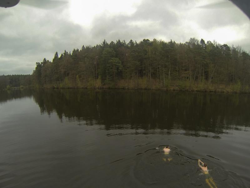 Anschwimmen