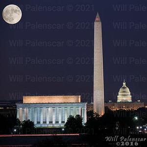 2016-11-13 Supermoon in DC