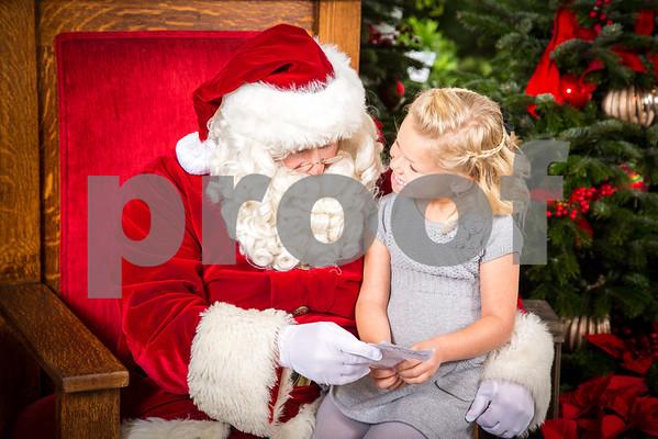 Rogers Gardens 2013 Santa Photos