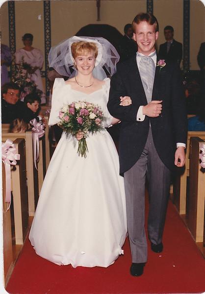 Tim Berger and Kimberly - May 20, 1989