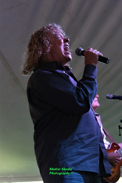 Vic Ferrari at Sawdust Days, Oshkosh 7-7-2018