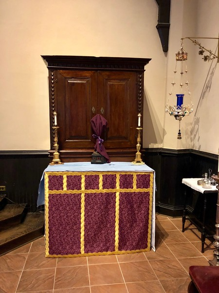 All Saints Altar, Passiontide