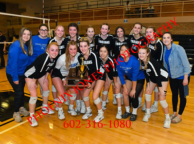 11-21-2020 - NCS v Valley Christian - AIA 3A Volleyball Final - Awards