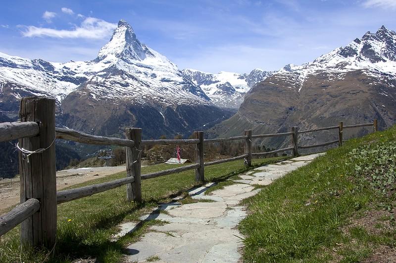 Matterhorn in the Swiss Alps