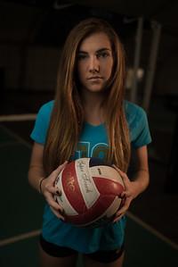 Mia Volleyball Shoot