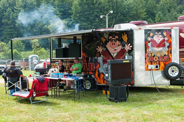 Franklin, NC BBQ Cookoff & Car Show - 8-8-15