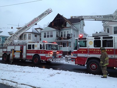 Structure Fire - 105 Mass Ave, Springfield, MA - 1/6/15