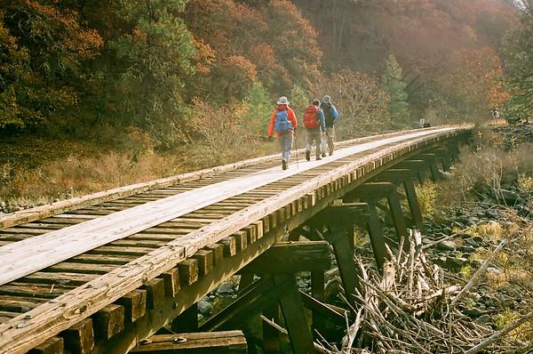Klickitat Trail in Fujicolor Superia - 2020/11/22